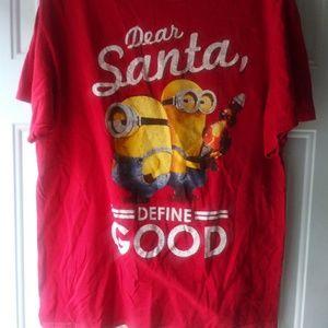 Red Minions Christmas T-Shirt